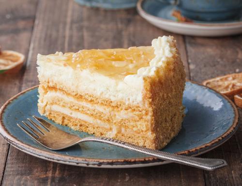 Торт «Лимонный»