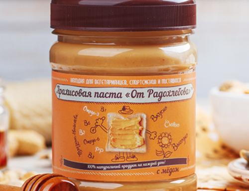 Арахисовая паста «С мёдом»